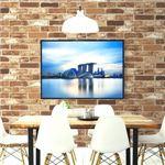 【OUTLET】(2.5m巻)リメイクシート シール壁紙 プレミアムウォールデコシートR-WA112 煉瓦 ソフトブラウンレンガ調