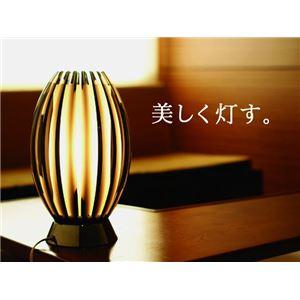 テーブルランプ(照明器具/卓上ライト) モダン 高級アクリル/ガラス 〔リビング照明/寝室照明/ダイニング照明〕【電球別売】 - 拡大画像