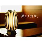 テーブルランプ(照明器具/卓上ライト) モダン 高級アクリル/ガラス 〔リビング照明/寝室照明/ダイニング照明〕【電球別売】