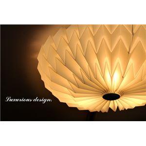 シーリングライト(照明器具) リモコン付き 調光調温 リモコン三段調節 北欧風 厚み約17cm 円形 〔リビング照明/ダイニング照明〕【電球付き】