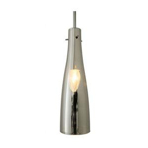 ペンダントライト(吊り下げ型照明器具) ボトル型 ガラス製 〔リビング照明/ダイニング照明/キッチン照明〕【電球別売】 - 拡大画像