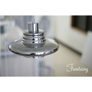 ペンダントライト(吊り下げ型照明器具) 特殊ガラス製 〔リビング照明/ダイニング照明/キッチン照明〕【電球別売】