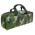 (業務用3セット)DBLTACT トレジャーボックス(作業バッグ/手提げ鞄) Mサイズ 自立型/軽量 DTQ-M-CA 迷彩 〔収納用具〕