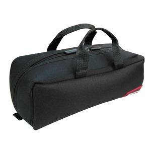 (業務用20セット)DBLTACT トレジャーボックス(作業バッグ/手提げ鞄) Sサイズ 自立型/軽量 DTQ-S-BK ブラック(黒) 〔収納用具〕 - 拡大画像