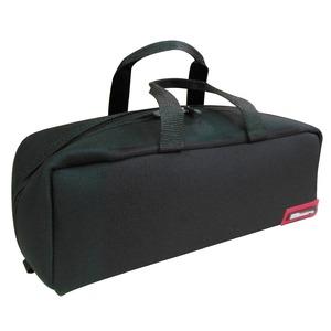 (業務用20セット)DBLTACT トレジャーボックス(作業バッグ/手提げ鞄) Mサイズ 自立型/軽量 DTQ-M-BK ブラック(黒) 〔収納用具〕 - 拡大画像