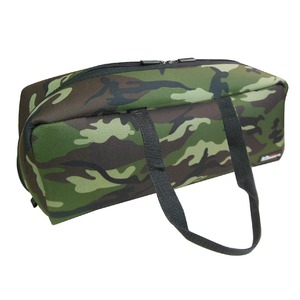 (業務用20セット)DBLTACT トレジャーボックス(作業バッグ/手提げ鞄) Lサイズ 自立型/軽量 DTQ-L-CA 迷彩 〔収納用具〕 - 拡大画像