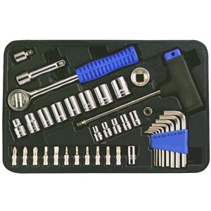 (業務用2個セット) TRAD ソケットレンチセット/作業工具 【39個入り】 フランクドライブ方式 TS39 - 拡大画像