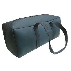 (業務用2個セット) DBLTACT トレジャーボックス(作業バッグ/手提げ鞄) LLサイズ 自立型/軽量 DTQ-LL-BK ブラック 〔収納用具〕 - 拡大画像