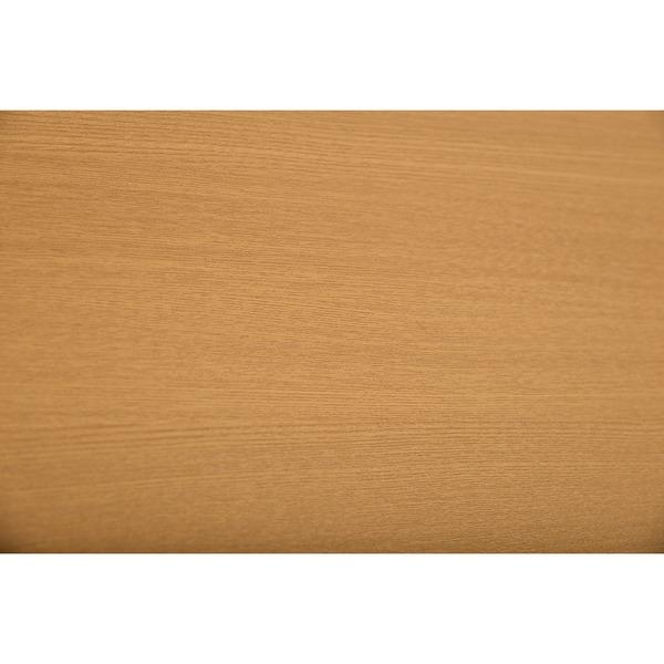 シンプル ダイニングテーブル 4人掛け 【ナチュラル】 幅135cm 木製脚付き 〔リビング 居間 フローリング〕