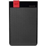 (まとめ)シリコンパワー ポータブルHDDDiamond D30 1TB ブラック SP010TBPHDD3SS3K 1台【×3セット】
