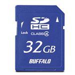 (まとめ)バッファロー SDHCカード 32GBClass4 RSDC-S32GC4B 1枚【×3セット】