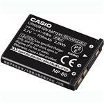 (まとめ)カシオ リチウムイオン充電池 NP-801個【×3セット】