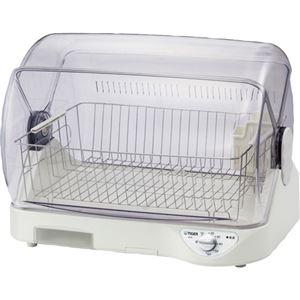 (まとめ)タイガー魔法瓶 食器乾燥機サラピッカDHG-T400W 1台【×3セット】 - 拡大画像
