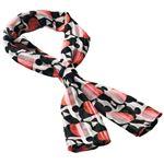 (まとめ)スカーフ SA07A-3 ピンク【×3セット】