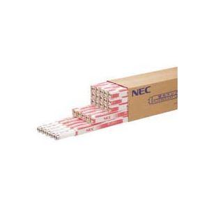 (まとめ)NEC 蛍光ランプ ライフライン直管グロースタータ形 15W形 白色 業務用パック FL15W 1パック(25本)【×3セット】 - 拡大画像