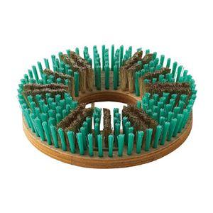 (まとめ)山崎産業 コンドル真鍮トーロンブラシ♯12 E-150 1個【×3セット】 - 拡大画像