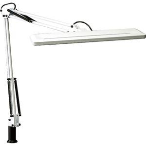 (まとめ)山田照明 LEDスタンド 9.0W1540Lx ホワイト Z-1000W 1台【×3セット】 - 拡大画像