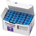 (まとめ)パナソニック アルカリ乾電池EVOLTAネオ 単4形 LR03NJN/40S 1箱(40本)【×3セット】