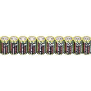 (まとめ)メモレックス・テレックス アルカリ乾電池単1形 LR20/1.5V/10S 1セット(100本:10本×10パック)【×3セット】 - 拡大画像
