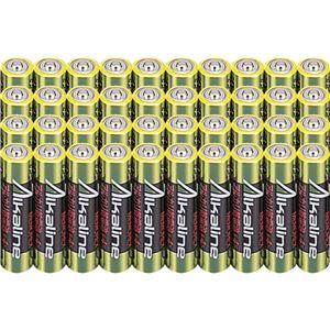 (まとめ)メモレックス・テレックス アルカリ乾電池単4形 LR03/1.5V40S 1セット(400本:40本×10パック)【×3セット】 - 拡大画像