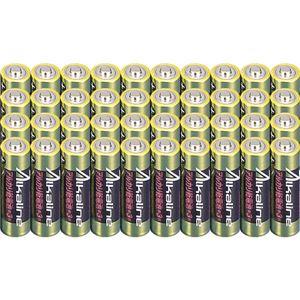 (まとめ)メモレックス・テレックス アルカリ乾電池単3形 LR6/1.5V40S 1セット(400本:40本×10パック)【×3セット】 - 拡大画像