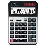 (まとめ)シャープ 実務電卓 12桁セミデスクタイプ CS-S952-X 1台【×3セット】