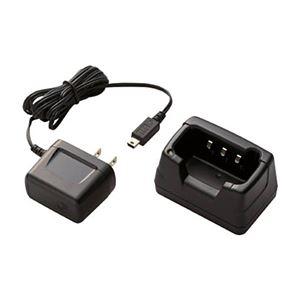 (まとめ) 八重洲無線 スタンダード シングル充電器JCPCN0003 1個 【×5セット】 - 拡大画像