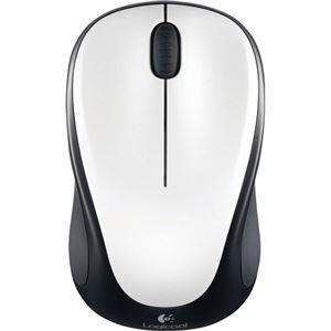 (まとめ) ロジクール Wireless Mouse アイボリーホワイト M235RIW 1個  【×5セット】 - 拡大画像