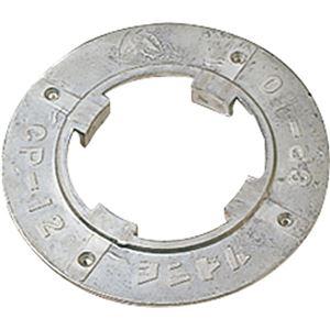 (まとめ) 山崎産業 コンドル(ポリシャー用備品)プレート 14インチ E-14-14 1個 【×5セット】 - 拡大画像