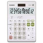 (まとめ) カシオ CASIO W税率電卓 12桁 デスクサイズ DW-200T-N 1台  【×5セット】