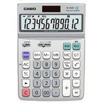 (まとめ) カシオ CASIO エコマーク付電卓 12桁 デスクタイプ DF-120GT-N 1台  【×5セット】