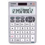 (まとめ) カシオ CASIO テンキー電卓 12桁 ミニナイスサイズ MZ-20-SR-N 1台  【×5セット】