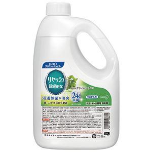 (まとめ) 花王 リセッシュ 除菌EX グリーンハーブの香り 業務用 2L 1本  【×5セット】