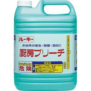(まとめ) 第一石鹸 ルーキー 厨房ブリーチ 業務用 5kg/本 1セット(3本)  【×5セット】