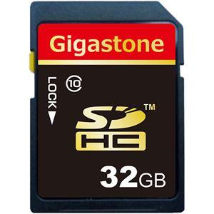 (まとめ) Gigastone SDHCカード32GB class10 GJS10/32G 1枚 【×5セット】 - 拡大画像