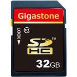 (まとめ) Gigastone SDHCカード32GB class10 GJS10/32G 1枚 【×5セット】