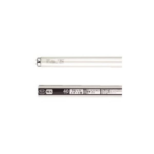 (まとめ) NEC 防災用残光蛍光ランプ 直管ラピッドスタート形 40W形 白色 FLR40SWMボウサイ/4K-L 1パック(4本)  【×5セット】