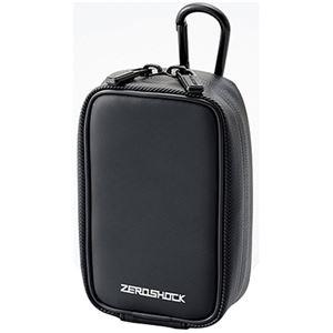 (まとめ) エレコム ZEROSHOCKカメラケースW83×D50×H135mm ブラック ZSB-DG014BK 1個 【×10セット】 - 拡大画像
