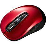 (まとめ) サンワサプライ Bluetooth3.0ブルーLEDマウス レッド MA-BTBL29R 1個 【×10セット】