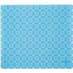 (まとめ) TANOSEE ECOマウスパッド ブルー 1枚  【×10セット】