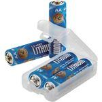 (まとめ) ASP 単3リチウム乾電池 530351パック(4本) 【×10セット】