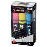 (まとめ) 三菱鉛筆 ブラックボードポスカ 極太 6色(各色1本) PCE50017K6C 1パック  【×10セット】
