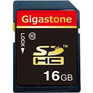 (まとめ) Gigastone SDHCカード16GB class10 GJS10/16G 1枚 【×10セット】 - 拡大画像