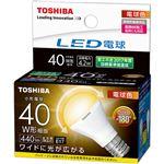 (まとめ) 東芝ライテック LED電球ミニクリプトン形 4.2W 2700K E17 小形電球40W形相当 LDA4L-G-E17/S/40W 1個 【×10セット】