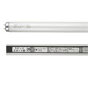 (まとめ) NEC 蛍光ランプ ライフラインII直管ラピッドスタート形 40W形 白色 FLR40SW/M/36/4K-L 1パック(4本) 【×10セット】 - 拡大画像