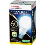 (まとめ) 東芝ライテック LED電球 一般電球形60W形相当 7.3W E26 昼白色 LDA7N-G/60W 1個 【×10セット】