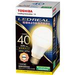 (まとめ) 東芝ライテック LED電球 一般電球形40W形相当 4.9W E26 電球色 LDA5L-G/40W 1個 【×10セット】