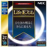 (まとめ) NEC 高周波点灯専用蛍光ランプLifeEスリム 27形 昼光色 FHC27ED-LE 1個 【×10セット】