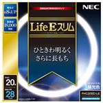 (まとめ) NEC 高周波点灯専用蛍光ランプLifeEスリム 20形 昼光色 FHC20ED-LE 1個 【×10セット】