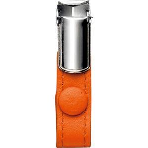 (まとめ) フロント 本革製ネームカードホルダー用クリップ オレンジ RLNHCR-O 1個  【×30セット】 - 拡大画像
